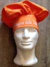 Cappello da cuoco ricamato.