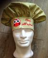 Cappello da cuoco personalizzato ricamato.