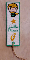 """Segnalibro in panno personalizzabile """"Piccolo Principe"""""""