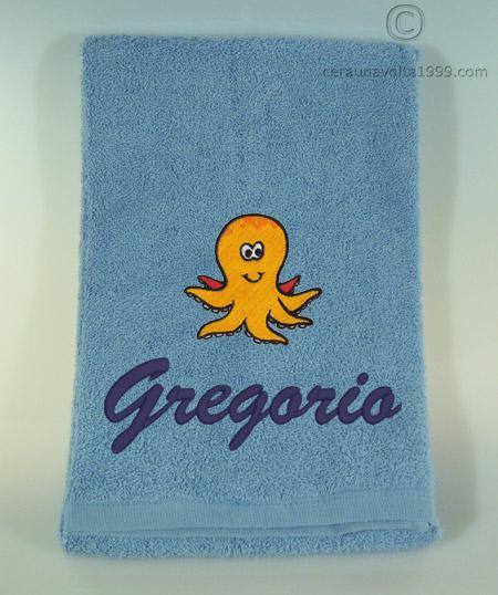 Asciugamani E Bavaglini Personalizzati.Asciugamano Piccolo 60x40 C1v Idee Regalo Originali