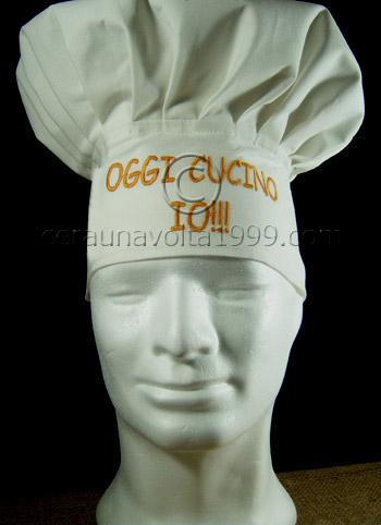 Cappello da cuoco personalizzato - Idee regalo originali dbc746601b71