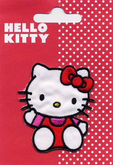 Toppa ricamata HELLO KITTY (T1)