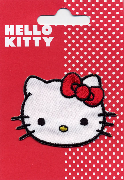 Toppa ricamata HELLO KITTY (T2)
